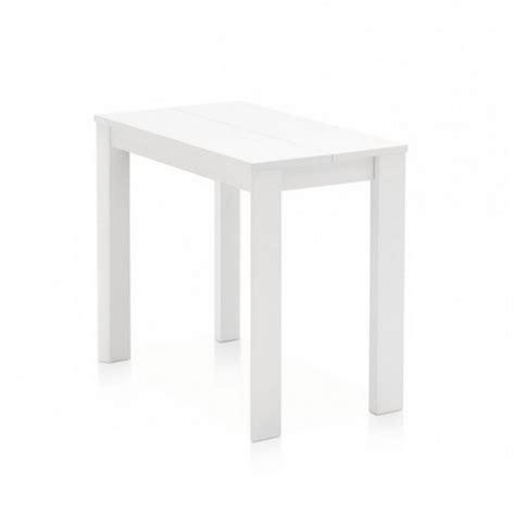 calligaris tavolo consolle consolle allungabile eminence in laccato bianco ottico opaco