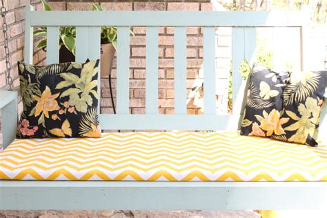 diy bench cushion cover give your seats a makeover with these 19 diy bench cushions