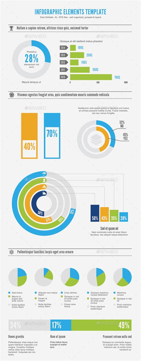 50 Free Infographic Templates Psd Download Infographic Template Psd