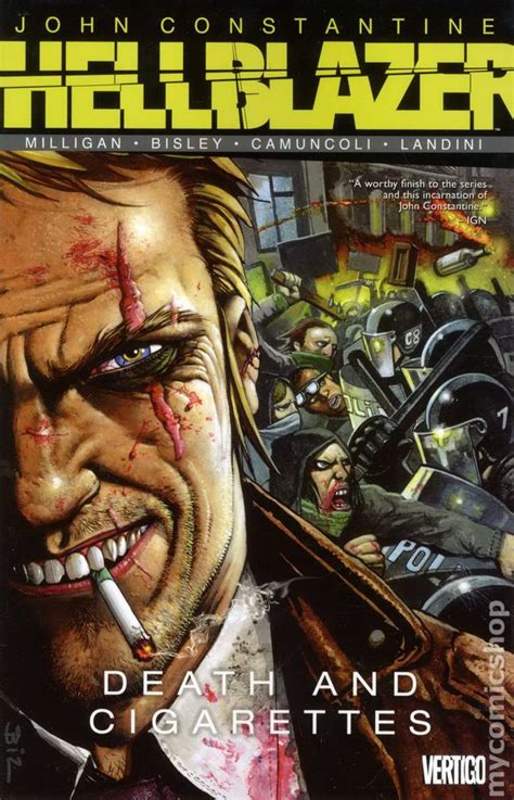 Dc Comics Hellblazer 64 hellblazer and cigarettes tpb 2013 dc vertigo