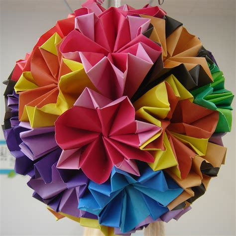 How To Make An Origami Sphere - file origami jpg simple the free