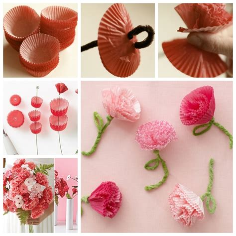 How To Make Carnations Out Of Tissue Paper - wonderful diy crochet carnation flower