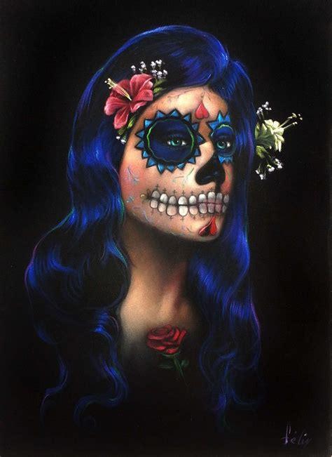 revista escooltura d 237 a de muertos vs halloween dia de los muertos skull face paint copy of sugar skull