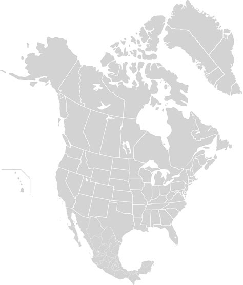 america map grey file america subnational division map png