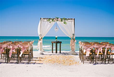 Magenta Chair Sashes Beach Side Affair Tide The Knot Beach Weddings St Pete