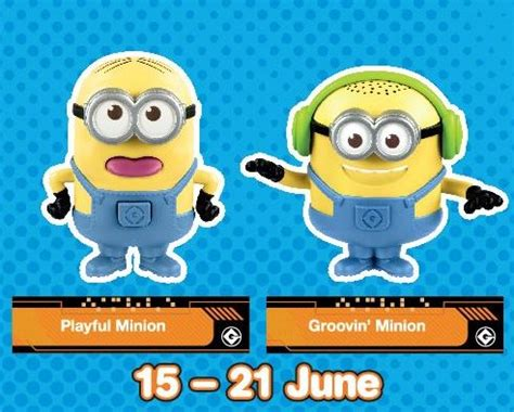 Promo Happy Meal Agnes Rockin Unicorn Minion Mcd Mcdonald Minions get your free despicable me 3 toys with every mcdonald s happy meal 1000savings