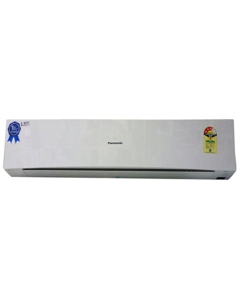Ac Panasonic panasonic 1 5 ton 3 cs cu yc18qky3 split air conditioner price in india buy panasonic 1 5