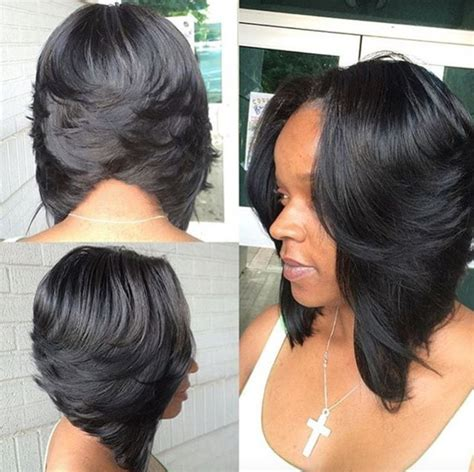 bob cut showing back side for black hair style 17 best ideas about black bob hairstyles on pinterest