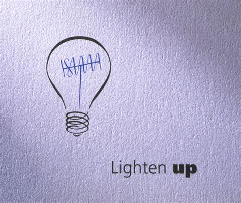lighten up definition of lighten up by the free dictionary lighten up a logo for a television lighting company
