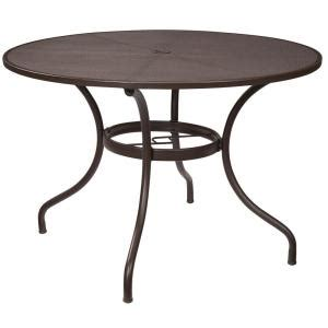 Circular Patio Table by Hton Bay Mix And Match 42 In Mesh Outdoor Patio