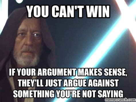 Internet Argument Meme - internet arguments strawman