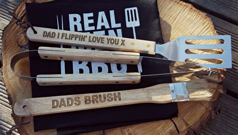 personalised bbq tool set personalized bbq by etsychicsewsweet