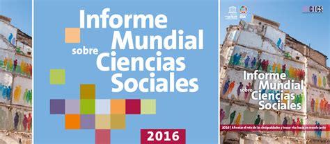 informe foessa 2013 desigualdad y derechos sociales informe mundial sobre ciencias sociales 2016