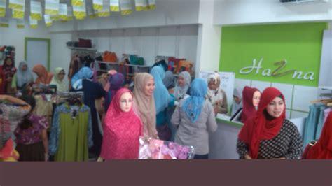 membuka usaha hijab peluang usaha hazna hijab cabang purwokerto baru buka