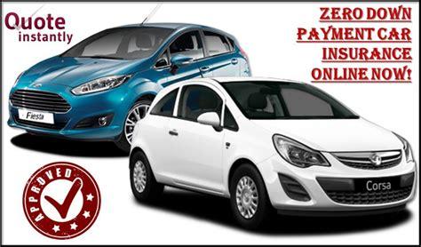 Zero Down Payment Car Insurance Online   Buy Car Insurance