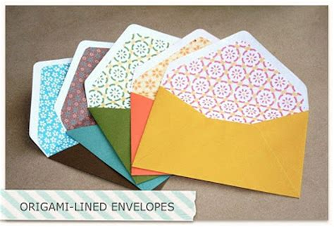 Origami With Lined Paper - peacefully folding origami lined envelopes
