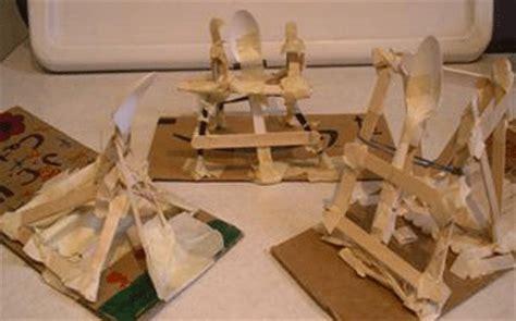catapult design challenge right on target catapult activity teachengineering