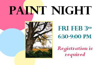 paint nite donation request paint belleville library