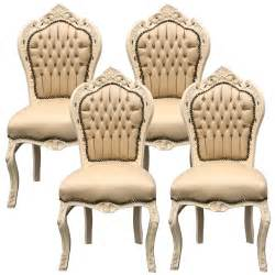 Unfinished Wood Dining Room Chairs by Set Of 4 Beige Dining Room Chairs Leatherette Solid Wood