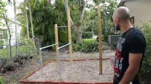 Pull Up Bar Backyard by How To Make A Barstarzz Park Youtube