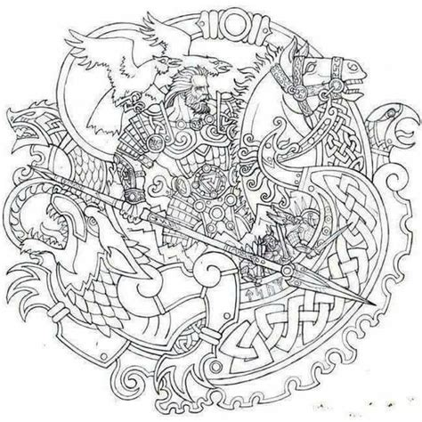 viking coloring pages for adults 270 best images about coloring warriors on pinterest