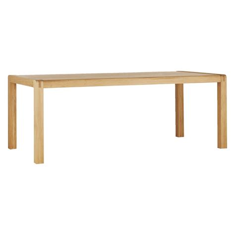 Oak Dining Table Radius 8 Seat Oak Dining Table Buy Now At Habitat Uk