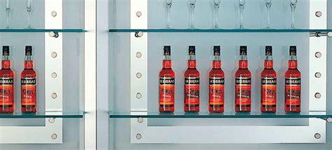 mensole per bar nuova cristalvetri vetreria a barletta dal 1960