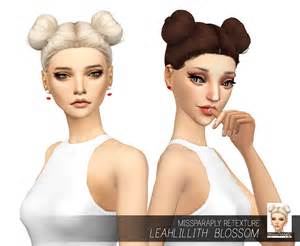 sims 4 cc hair sims 4 hairs miss paraply leahlillith s blossom hair retextured