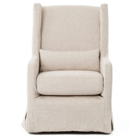 swivel chair slipcovers wilshire modern classic slipcover cream linen swivel arm