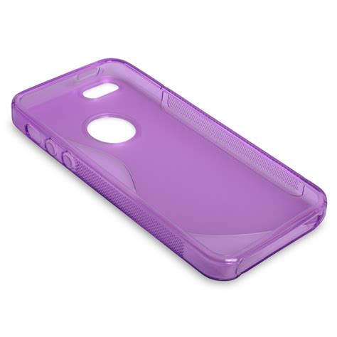 Line Iphone 5 5s iphone 5 5s s line gel purple mobile madhous
