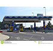 Highway Toll Gate Stock Image Of Fast Exit