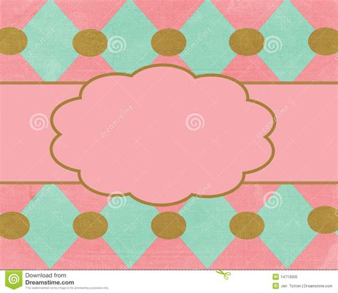 Brown Card Template by Pink Brown Card Background Template Royalty Free Stock