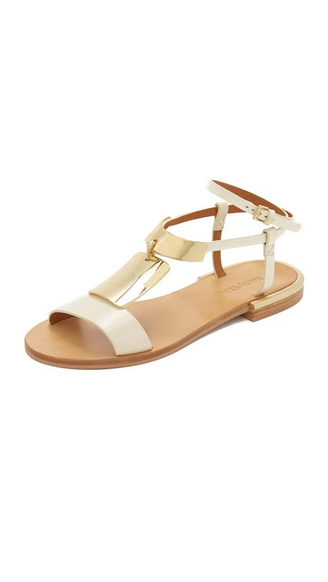 see by sandals lyst see by chlo 233 sandals in