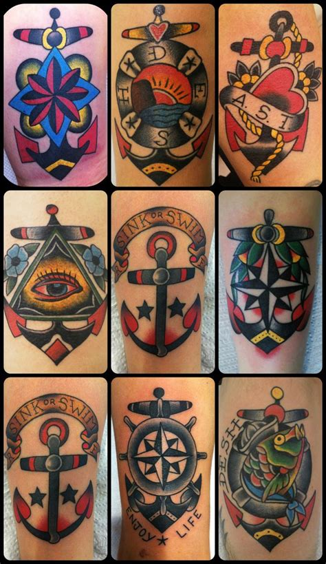 traditional anchor tattoo 77 best trad images on traditional