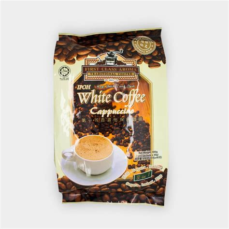 White Coffee ipoh white coffee cappuccino hock product centre