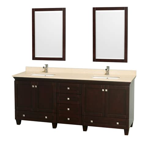 Wyndham Bathroom Vanity by Wyndham Collection Wcv800080desivunsm24 Acclaim 80 Inch