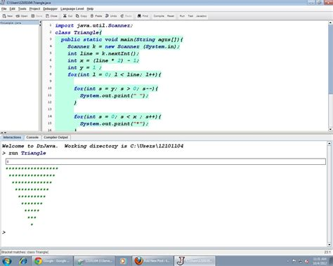 print name pattern in java how to print reverse triangle in java tushkhush