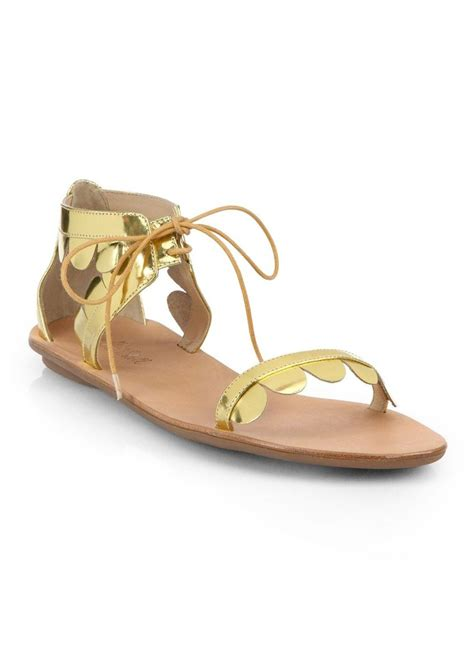loeffler randall sandals loeffler randall loeffler randall marmy scalloped sandals