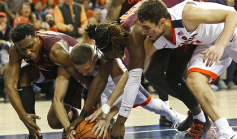 Kaos Virginia Tech Basketball Most Popular virginia tech basketball produces one of this season s top comeback victories at uva accsports