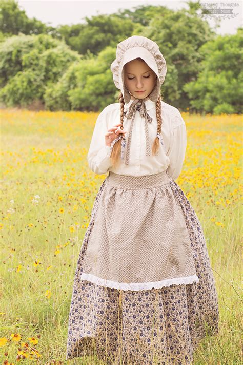 bonnet pattern little house little house on the prairie costume and bonnet tutorial