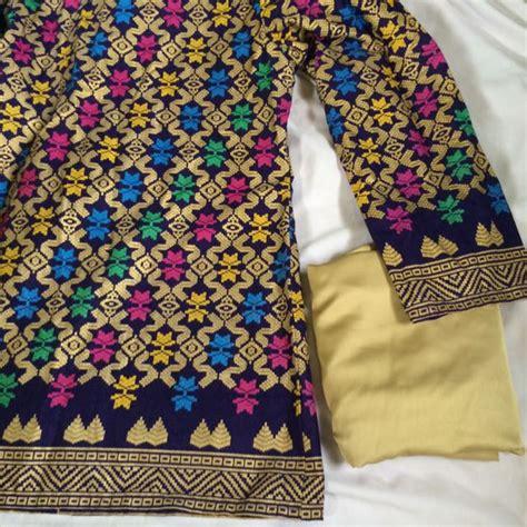 pattern baju batik sarawak image gallery songket sarawak