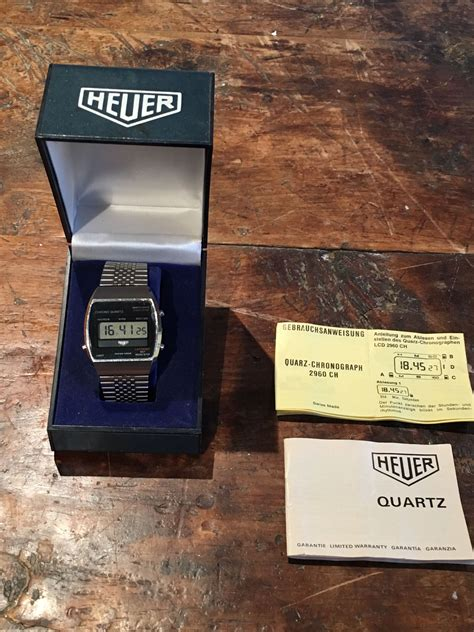 Quartz Memo heuer quarz 16061 kool memo watches