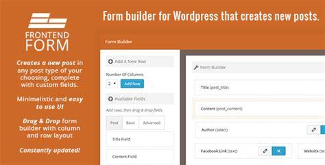 design form wordpress top 3 forms for wordpress professional web design