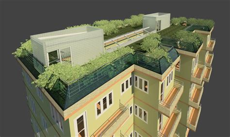live roof rvt multifamily residential building green rvt