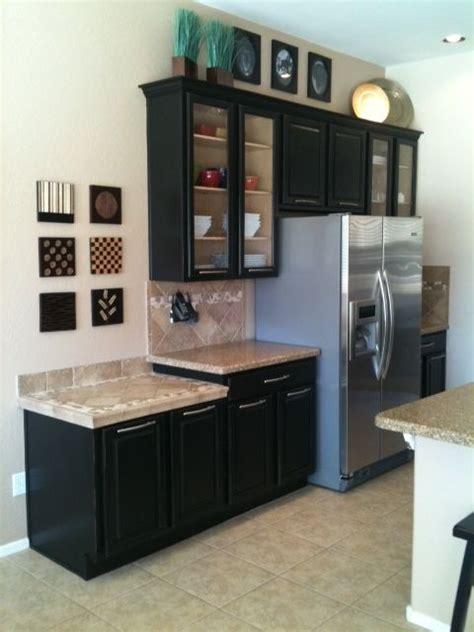 kitchen cabinet updates 17 best images about dark cabinet glass doors on pinterest