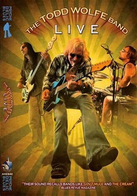 Ghd Box Of Forgiveness by The Todd Wolfe Band Live 2010 For Rent On Dvd Dvd Netflix