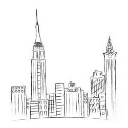sketchbook new york new york city sketch vector by on