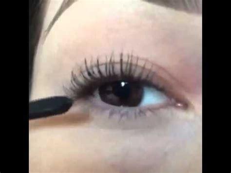 tutorial memakai eyeliner gel wardah cara memakai maskara youtube