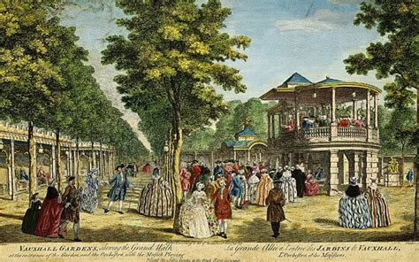 Pleasure Garden by The Pleasure Gardens Of 18th Century Oupblog