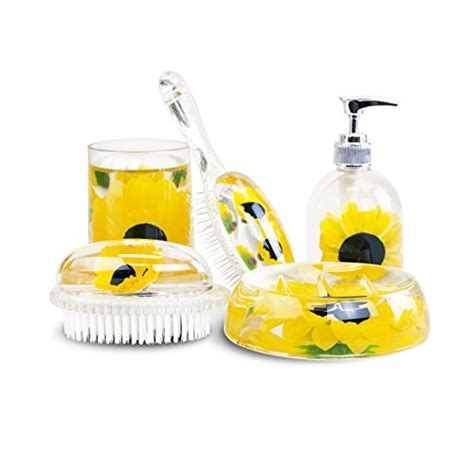 sunflower bathroom accessories sunflower bathroom accessories to light up your space